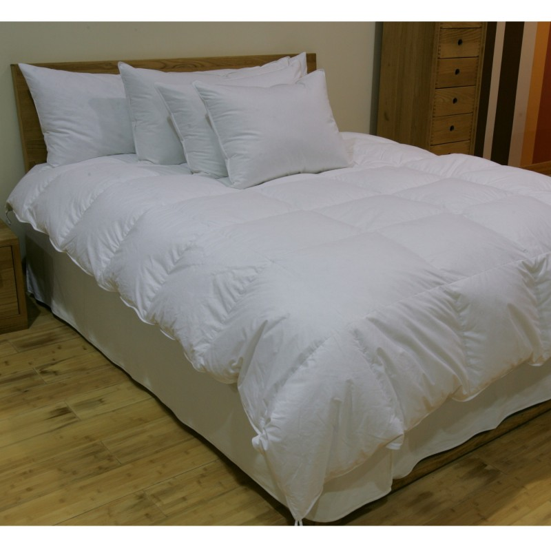 235tc fall weight white goose down comforter. Black Bedroom Furniture Sets. Home Design Ideas