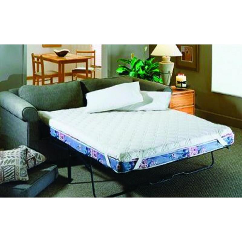 Comfort cloud sofa bed mattress pad queen for Comfort cloud sleeper sofa bed mattress pad
