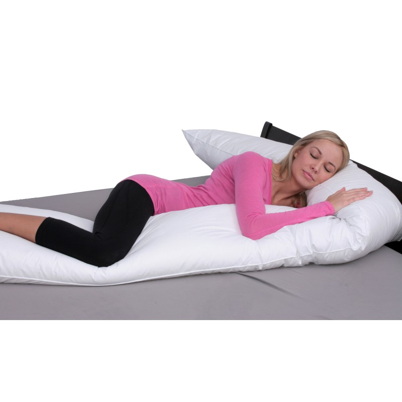 Pillow With Purpose Wrap Body Pillow With Bonus Cover