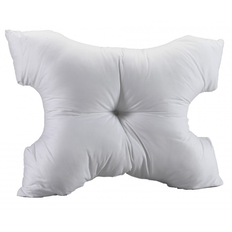 Miles Kimball White Pillow For Sleep Apnea