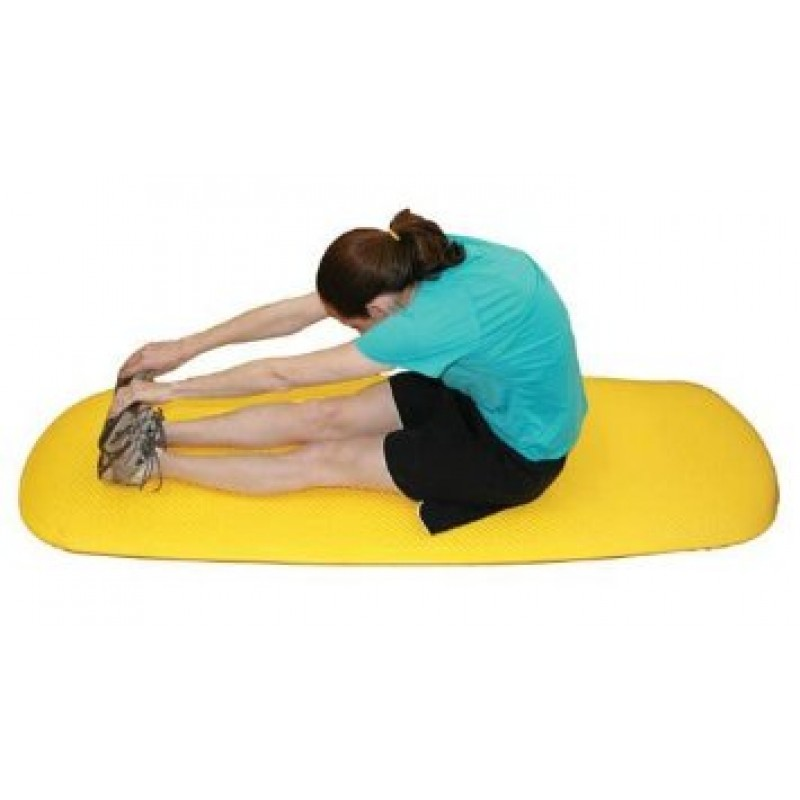 Cushioned Exercise Mat Blue 26 X 72 X 0.6