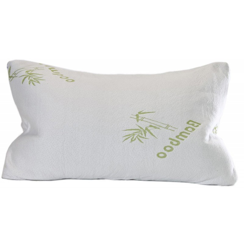 Shredded Memory Foam Bamboo Pillow With Inner Polyester Cover