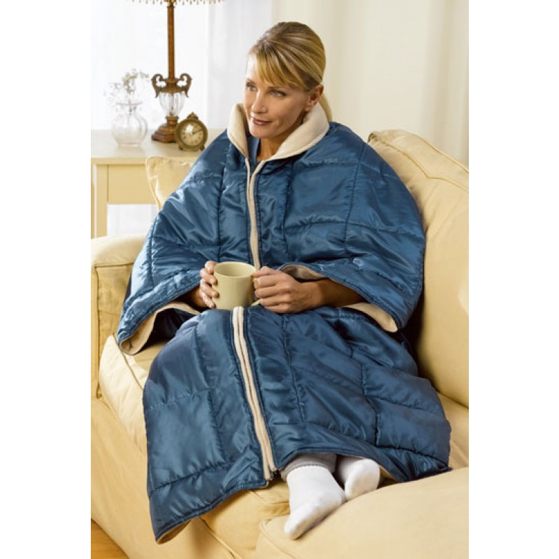 Deluxe Comfort My Cozy Blanket Wrap Hot And Cold Thermal