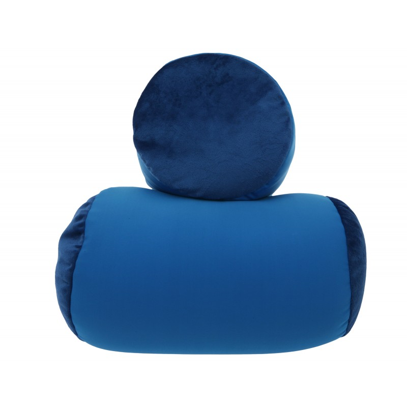 Squishy Deluxe Microbead Bolster Pillow
