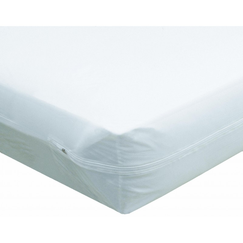 plastic mattress cover. Twin Zippered Plastic Mattress Protector Cover