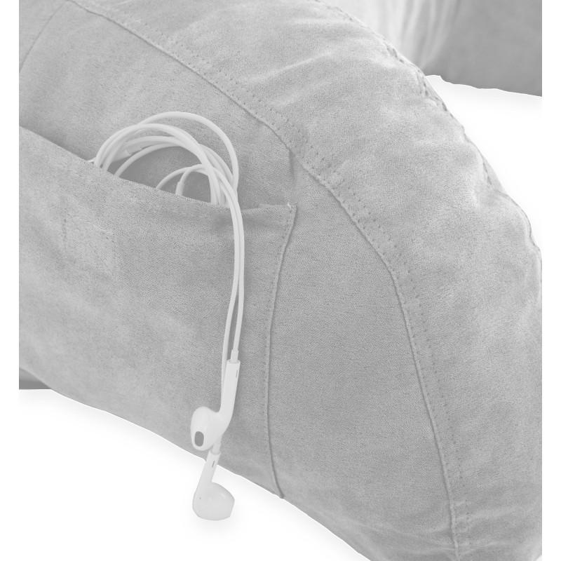 Microsuede Bedrest Pillow Bed Rest Reading Pillow