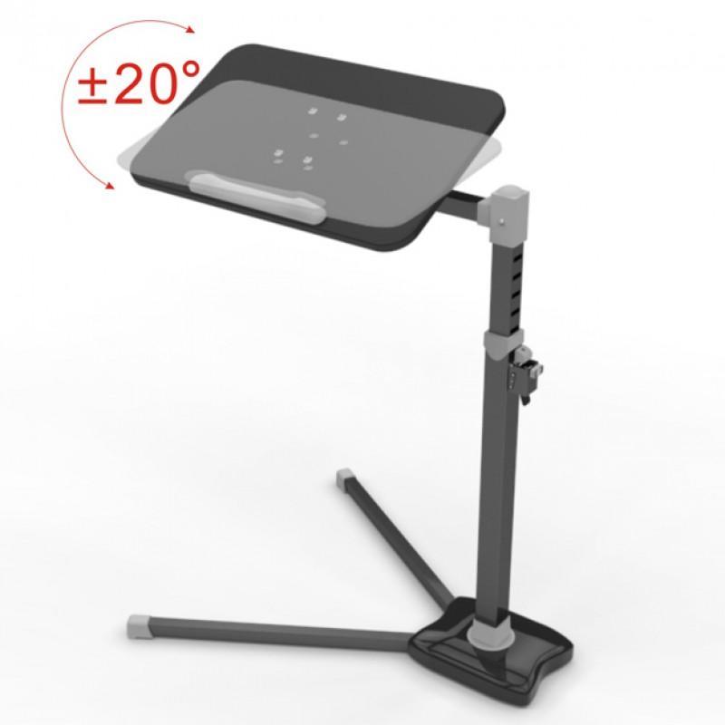 Laptop Stand computer desk Adjustable height V shape stable