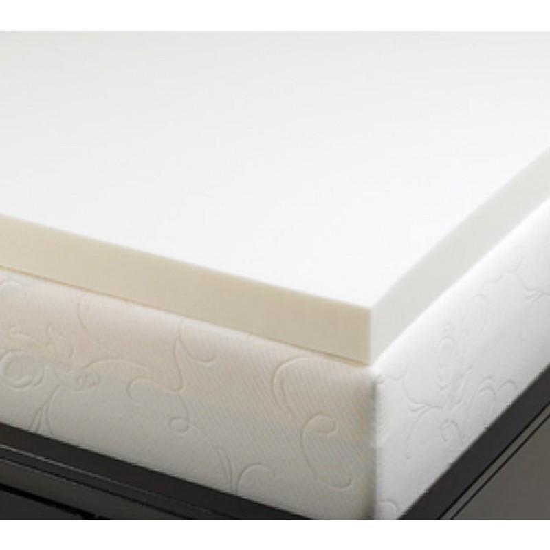2 Inch Memory Foam Mattress Topper 5 3 Lb Density Mattress