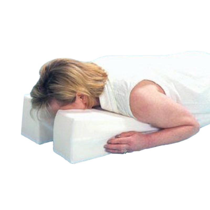 Stomach Sleeper Face Down Pillow Large 14 X 29 X 6 To