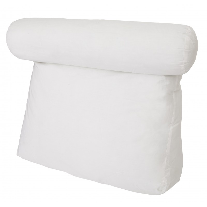 Relax In Bed Pillow Plain White Best Lounger Support Pillows with