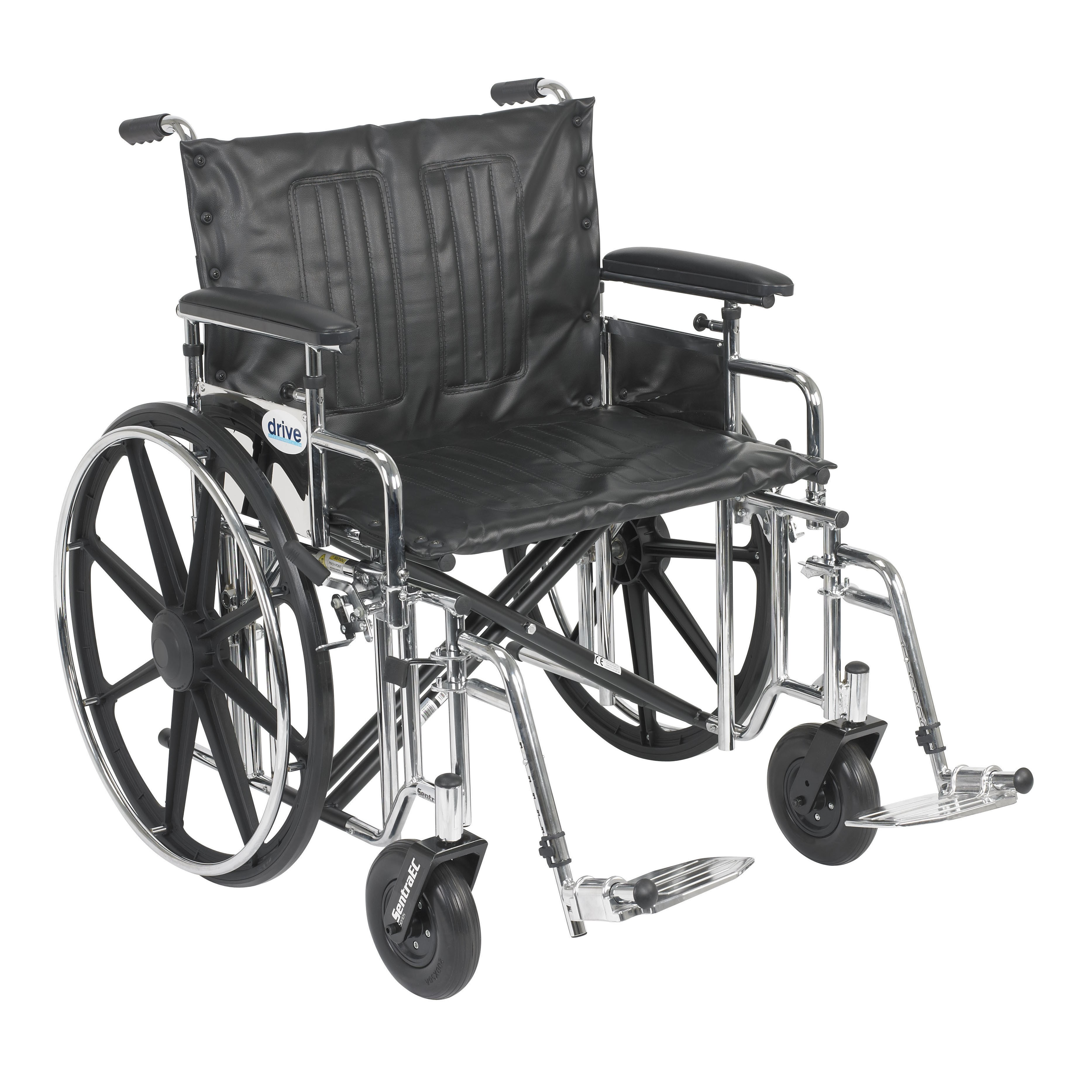 Sentra Extra Heavy Duty Wheelchair With Detachable
