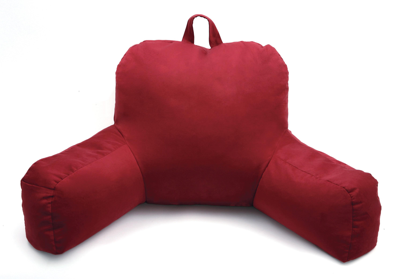 Porter Bedrest, Tan - Brushed Porter Bedrest, Tan - Micro Suede ...