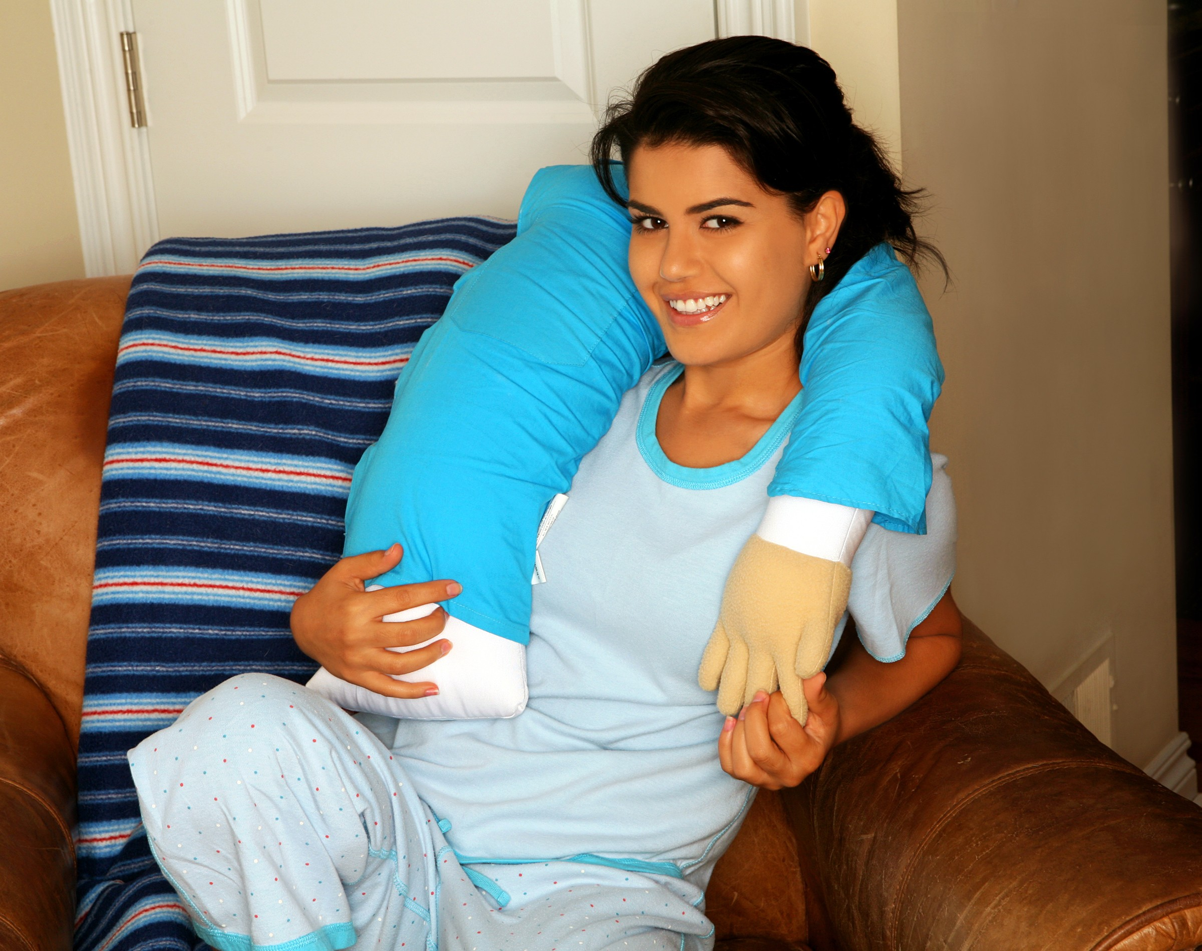 pillow that looks like a man