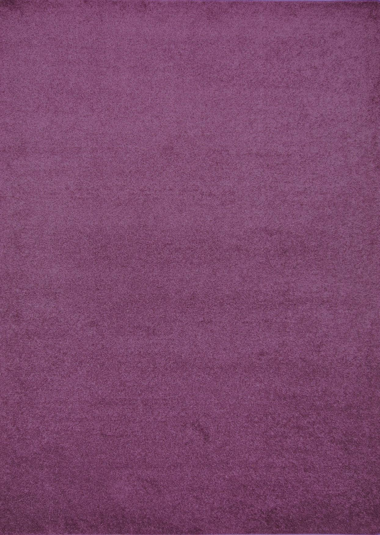 Henley Purple 8 X 10 Solid Rug
