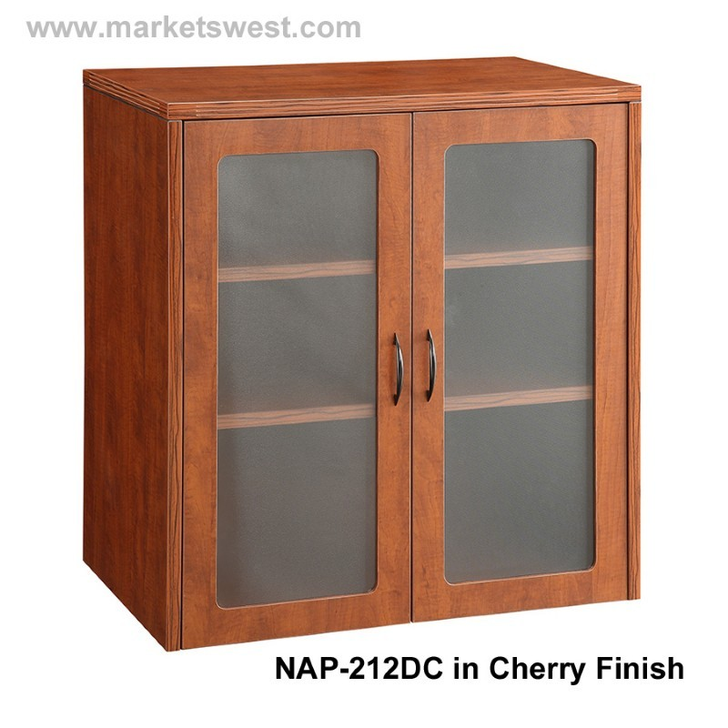 """Kitchen Door Napa Ca: Napa 37""""H Storage Cabinet, Wood Doors"""