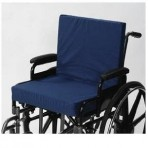 "Wheelchair Cushion With Back 2"" Seat - 16"" X 18"" X 2"""