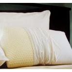 Restful Nights Natural Latex Foam Pillow - Set of 2 Pillows - King
