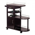 Winsome Wood 92235 Entertainment Kitchen Cart