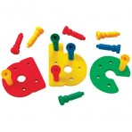 Alphabet Pegboard Set