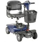 Dart 4 Wheel Compact Scooter Blue