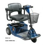 Daytona-3 Scooter Blue 3-Wheel Medium Size Electric