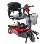 Bobcat 3 Wheel Compact Scooter Red