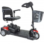 Spitfire Scout DLX 3 Wheel Compact Travel Scooter