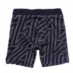 4 Zag: Char/Black Fitted Boxers