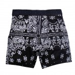 Bandanna Black Fitted Boxers