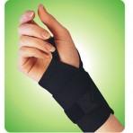 Wrist Band With Thumb Loop White