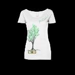 Money Tree Womens - White
