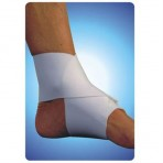Figure 8 Ankle Wrap, Extra Large, Beige