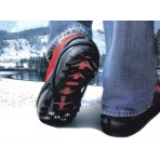 No Slip Ice Cleats - Black