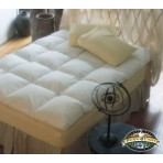 Pacific Coast Luxury Baffle Box Feather Bed - Queen