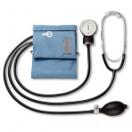 Blood Pressure Aneroid Home Kit Wattached Stethoscope
