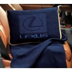 Eco Fleece Sport/travel Blanket -Navy