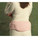 Lumbar Pack Belt Fleece Pink