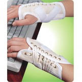 Canvas Cock Up Splint Right Hand, Pull & Lace-up Closure, Extra Large