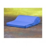 AB Tension Pillow With Blue Satin Cover