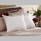 "Slumber 800TC Hypodown Core Pillow - Queen  White 800-Fill Soft Goose Down Pillow (Queen  20"" X 30"")"