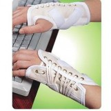 Canvas Cock Up Splint Right Hand, Pull & Lace-up Closure, Extra Small