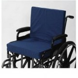 "Wheelchair Cushion With Back 4"" Seat - 16"" X 18"" X 4"""