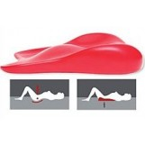 Deluxe Comfort Lovers Cushion Sex Positioning Wedge Ramp - Patented Pelvic Leverage To Increase Conception - Deeper Penetration - Better Sex - Cushion/Ramp, Pink