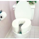 Vinyl Cushion Toilet Seat 4