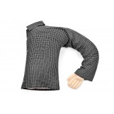 Boyfriend Pillow - Cute And Fun Husband, Companion Or Cuddle Buddy - Body Pillow With Benifits - Unique Gag Gift Idea - Body Pillow, Plaid Checkered