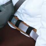 Seatbelt Pad: Lap Seat Belt For Pregnant Women, Long-Hour Drivers, Abdominal Surgery Patients & Pacemaker Users