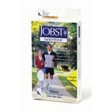 Jobst Athletic 8 - 15 Mmhg Knee Length Unisex Socks - White - Small