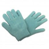 Deluxe Comfort Terry Gel Lined Moisturizing Lotion Gloves - Light Weight Reusable Gloves - 90% Cotton & 10% Spandex - Keeps Hands Soft - Lotion