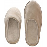 Mens Indoor/Outdoor Slip-On Microsuede Memory Foam House Slippers, Size 7-8 - Double Side Stiched Microsuede Exterior - Comfy Plush Micro Fleece