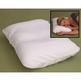"Deluxe Comfort Microbead Cloud Pillow, Small (18.5"" x 12.5"" x 4"") - Micropedic Technology - Contours Perfectly - Promotes Healthy Sleep - Bed Pillow, White"